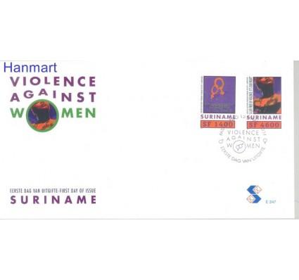 Znaczek Surinam 2001 Mi 1777-1778 FDC