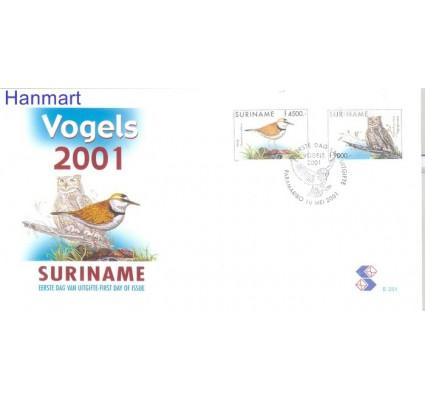 Znaczek Surinam 2001 Mi 1782-1783 FDC