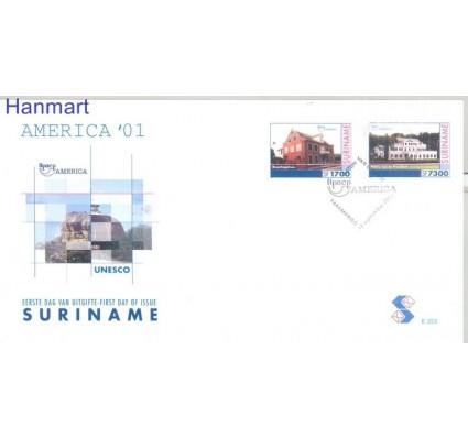 Znaczek Surinam 2001 Mi 1789-1790 FDC