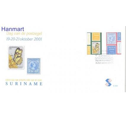 Znaczek Surinam 2001 Mi 1793-1794 FDC