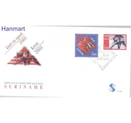 Znaczek Surinam 2001 Mi 1798-1799 FDC