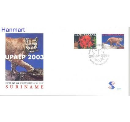 Znaczek Surinam 2003 Mi 1886-1887 FDC