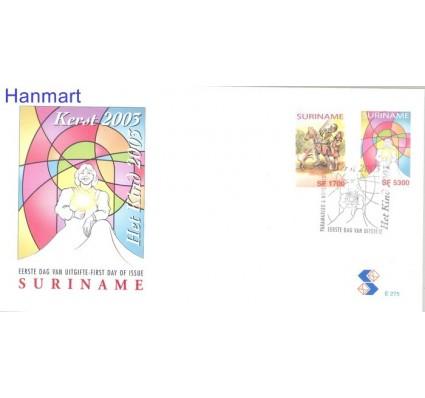 Znaczek Surinam 2003 Mi 1890-1891 FDC