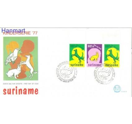 Znaczek Surinam 1978 Mi bl 20 FDC
