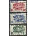 Saint-Pierre i Miquelon 1947 Mi 351-353 Czyste **