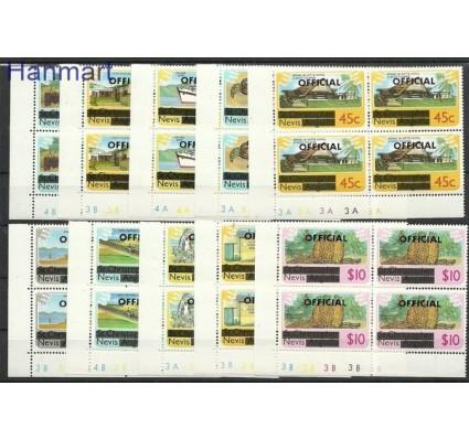 Znaczek Nevis 1980 Mi 1-10 Czyste **