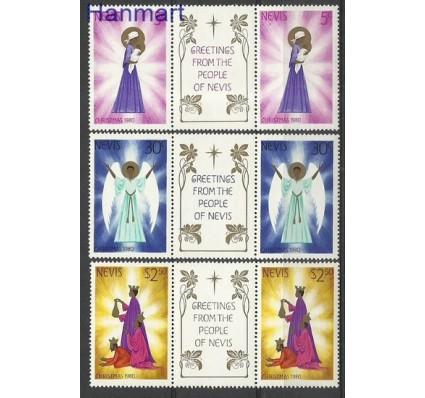 Znaczek Nevis 1980 Mi 43-45 Czyste **