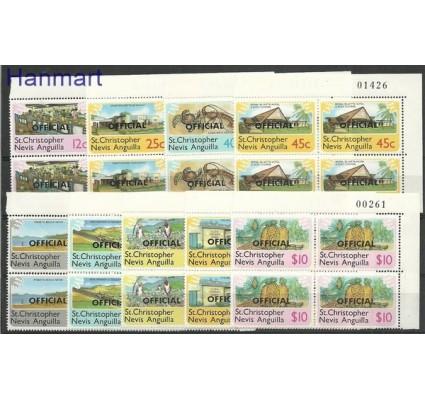 Znaczek St. Christopher Nevis Anguilla 1980 Mi 1-9 Czyste **