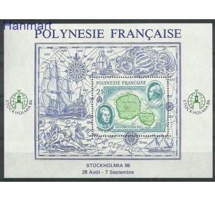 Znaczek Polinezja Francuska 1986 Mi bl 12 Czyste **