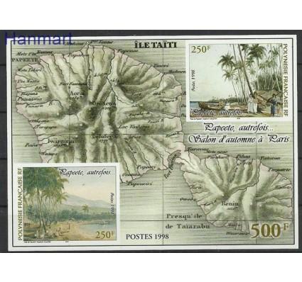 Znaczek Polinezja Francuska 1998 Mi bl 23 Czyste **