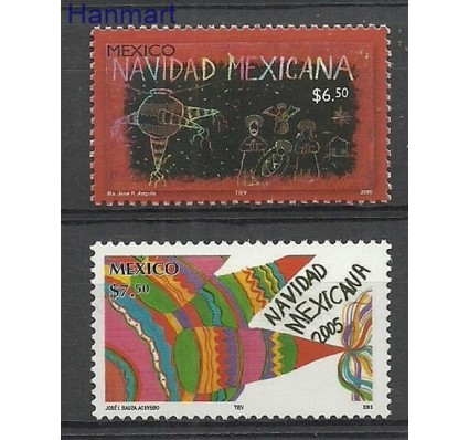 Znaczek Meksyk 2005 Mi 3249-3250 Czyste **