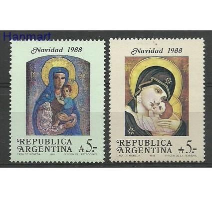Znaczek Argentyna 1988 Mi 1951-1952 Czyste **