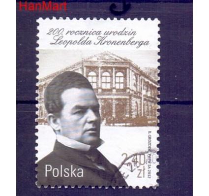 Znaczek Polska 2012 Stemplowane