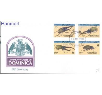 Znaczek Dominika 1994 Mi 1804-1807 FDC
