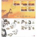 Republika Południowej Afryki 2006 Mi 1715-1724 FDC