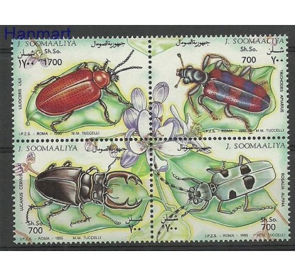 Znaczek Somalia 1995 Mi 539-542 Czyste **