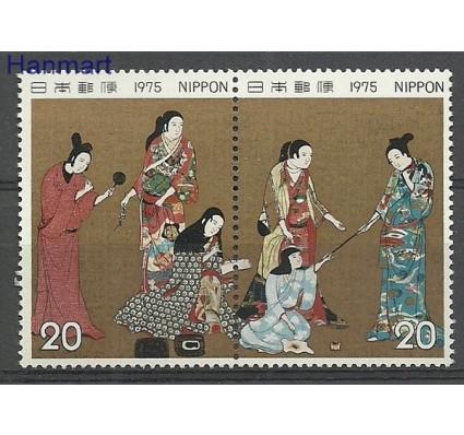 Znaczek Japonia 1975 Mi 1250-1251 Czyste **