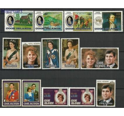 Znaczek Wyspy Cooka 1987 Mi 1185-1198 Czyste **