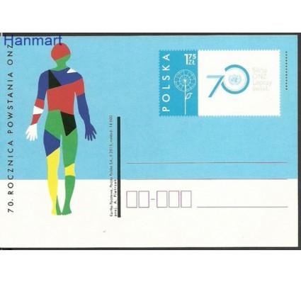 Znaczek Polska 2015 Fi Cp 1727 Całostka pocztowa