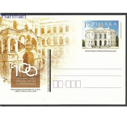 Znaczek Polska 2015 Fi Cp 1729 Całostka pocztowa