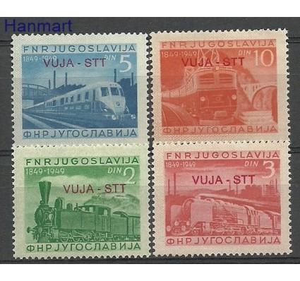 Znaczek Triest - Jugosławia Zone B 1950 Mi 31-34 Czyste **