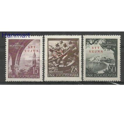 Znaczek Triest - Jugosławia Zone B 1952 Mi 76-78 Czyste **