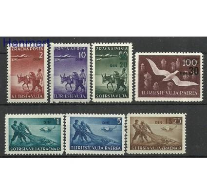 Znaczek Triest - Jugosławia Zone B 1949 Mi 5-11 Z podlepką *