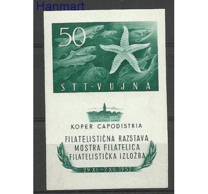 Znaczek Triest - Jugosławia Zone B 1952 Mi bl 2 Czyste **