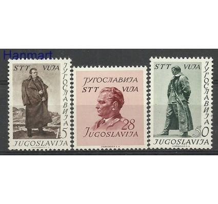 Znaczek Triest - Jugosławia Zone B 1952 Mi 66-68 Z podlepką *