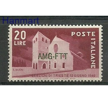 Znaczek Triest - Włochy 1949 Mi 66 Czyste **