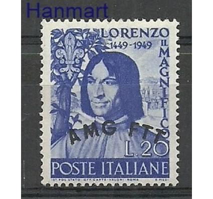 Znaczek Triest - Włochy 1949 Mi 74 Czyste **