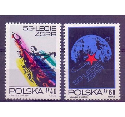 Znaczek Polska 1972 Mi 2212-2213 Fi 2065-2066 Czyste **