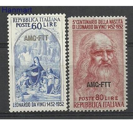 Znaczek Triest - Włochy 1952 Mi 194-195 Czyste **