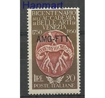 Znaczek Triest - Włochy 1950 Mi 118 Z podlepką *