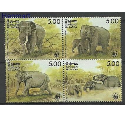Znaczek Sri Lanka 1986 Mi 753-756 Czyste **