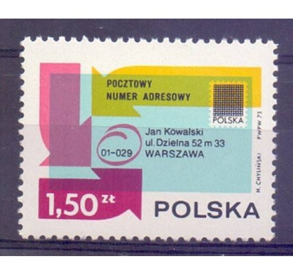 Polska 1973 Mi 2246 Fi 2099 Czyste **