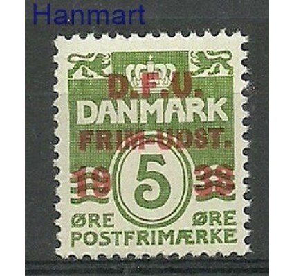 Znaczek Dania 1938 Mi 243 Czyste **