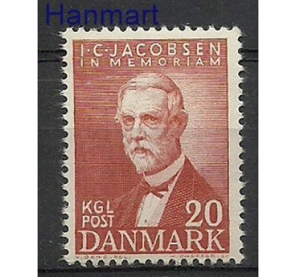 Znaczek Dania 1947 Mi 301 Czyste **