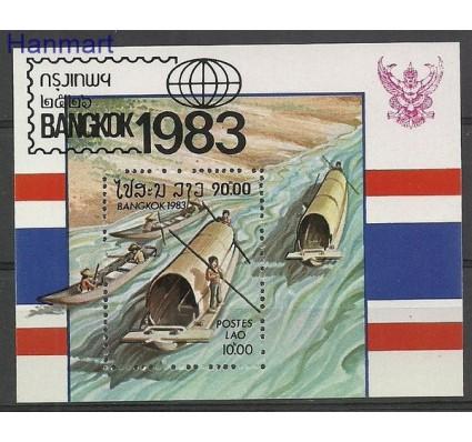 Znaczek Laos 1983 Mi bl 98 Czyste **