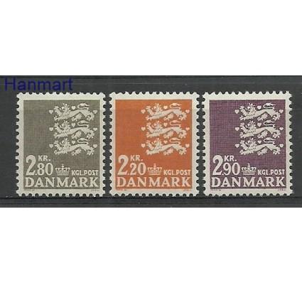 Znaczek Dania 1967 Mi 461-463 Czyste **