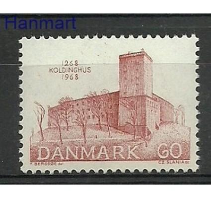 Znaczek Dania 1968 Mi 468 Czyste **