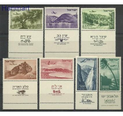 Znaczek Izrael 1953 Mi 80-86 Czyste **