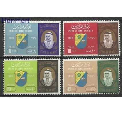 Znaczek Kuwejt 1966 Mi 335-338 Czyste **