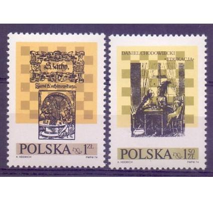Polska 1974 Mi 2322-2323 Fi 2175-2176 Czyste **