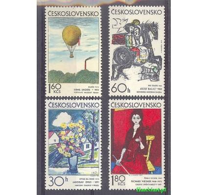 Znaczek Czechosłowacja 1973 Mi 2117-2120 Czyste **