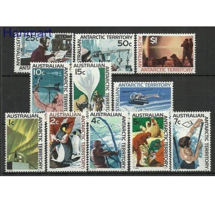 Znaczek Australijskie Terytorium Antarktyczne 1966 Mi 8-18 Czyste **