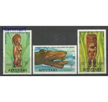 Znaczek Aitutaki 1978 Mi 286-288 Czyste **