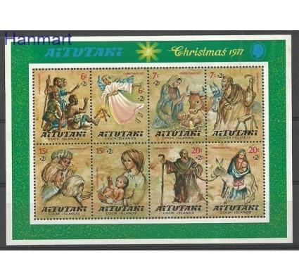 Znaczek Aitutaki 1977 Mi bl 17 Czyste **
