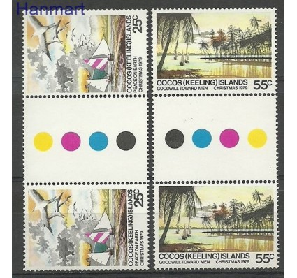 Znaczek Wyspy Kokosowe / Keelinga 1979 Mi 48-49 Czyste **
