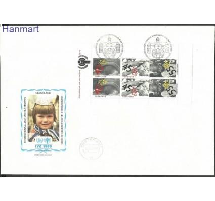 Znaczek Holandia 1979 Mi bl 20 FDC